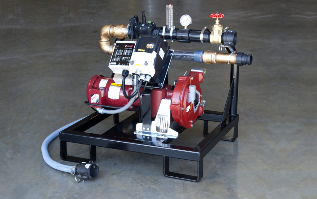Mulch Coloring Pumps